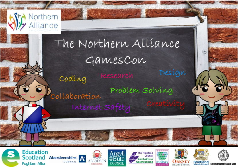 Northern Alliance Games Con Poster