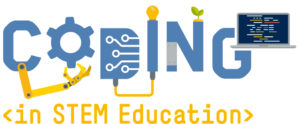 Coding In STEM Education Logo